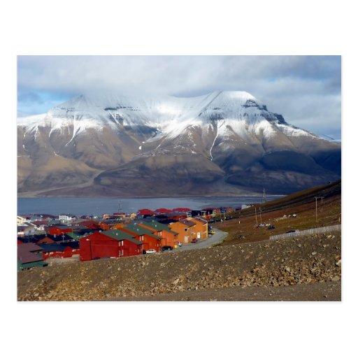 Magical Longyearbyen, Svalbard Post Card