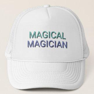 MAGICAL MAGICIAN Text Trucker Hat