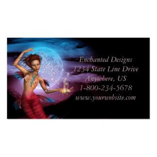 Magical Mermaid Moon Business Cards