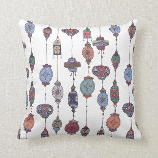 Magical Moroccan Lanterns Cushion
