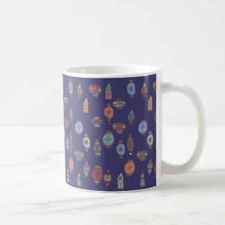 Magical Moroccan Lanterns Deep Purple Mug