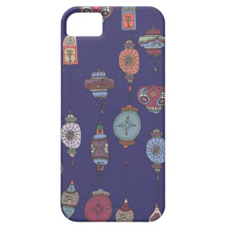 Magical Moroccan Lanterns Deep Purple Phone Case