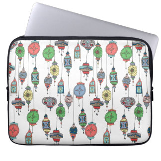 Magical Moroccan Lanterns Laptop Sleeve