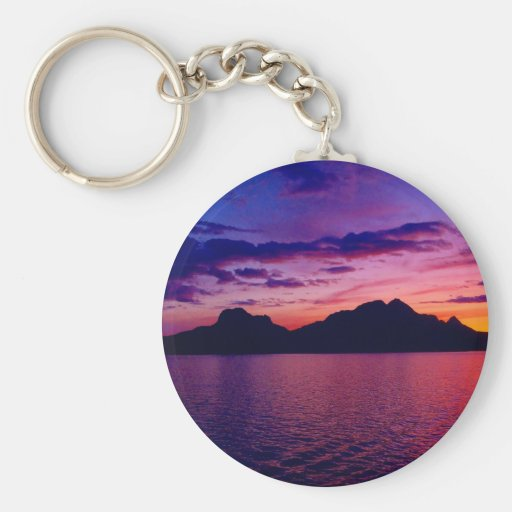 Magical Mountains of Bodo Key Chain