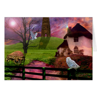 Magical mystery tor greeting cards
