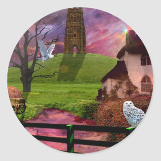 Magical mystery tor... classic round sticker