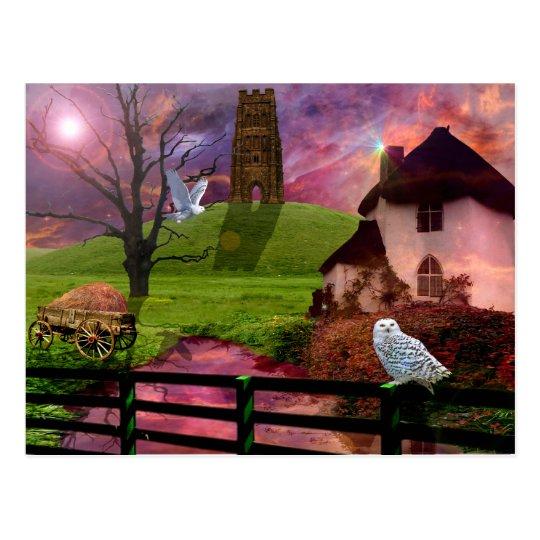 Magical mystery tor.. postcard