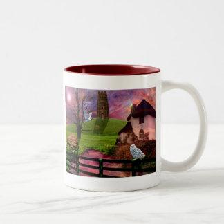 Magical mystery tor... Two-Tone coffee mug