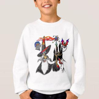 Magical Mystical Fire Wizard Magician Sweatshirt