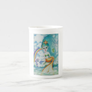 Magical mystical mermaid! tea cup
