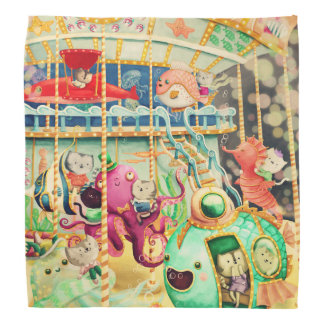 Magical Nautical Carousel Bandana