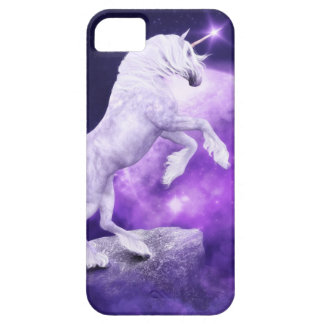 Magical Night Enchanted Unicorn Kingdom Barely There iPhone 5 Case