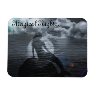 Magical Night Mermaid Magnet