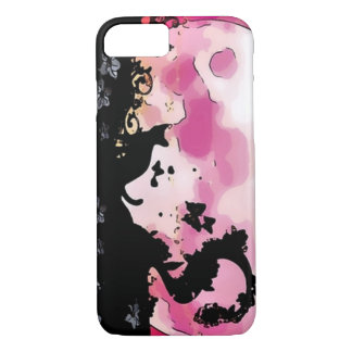 Magical Night Silhouette Graphic Art iPhone 7 Case