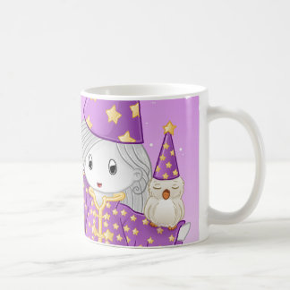 Magical Po Basic White Mug