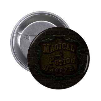 Magical Potion Shoppe 6 Cm Round Badge