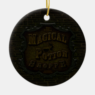 Magical Potion Shoppe Christmas Ornament