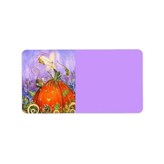 Magical Pumpkin and Little Friends Label