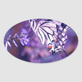 Magical Purple Butterfly Stickers