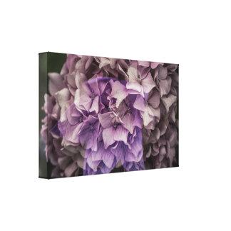 Magical purple canvas print