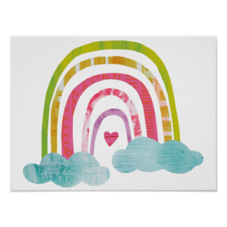 Magical Rainbow Poster