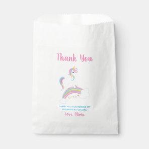 Magical Rainbow Unicorn Birthday Favour Bags