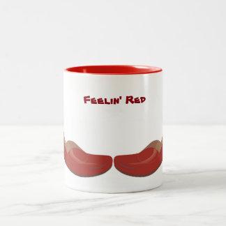Magical Red Shoes Two-tone Mug