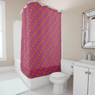 Magical Red | Shower Curtain