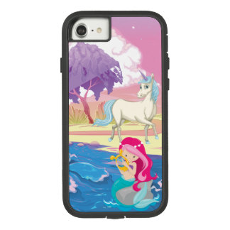 Magical Riverbank with Fairies Unicorn and Mermaid Case-Mate Tough Extreme iPhone 8/7 Case