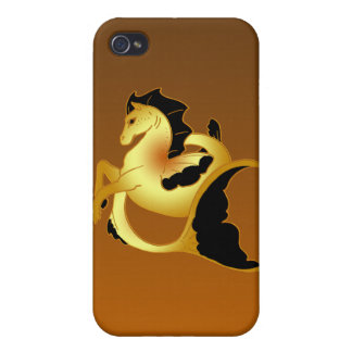 Magical Sea Horse Collection Case For iPhone 4