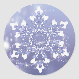Magical Snowy Wonderland Stickers