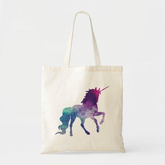 Magical Sparkly Prancing unicorn Tote Bag