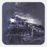 Magical Steam Engine Victorian Train Stickers