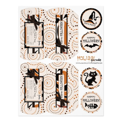 Magical Swirls and Halloween Prints Flyer