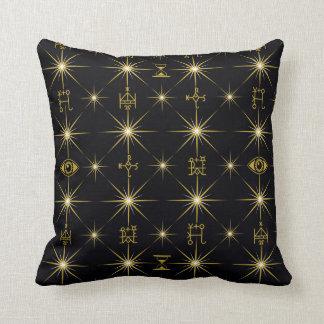 Magical Symbols Pattern Cushion