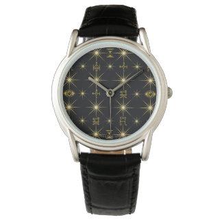 Magical Symbols Pattern Watch