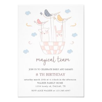 Magical Team | Birthday Invitation