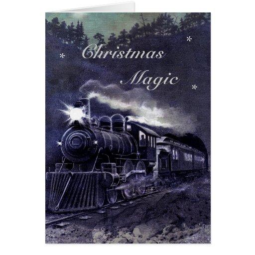 "Magical Train ""Christmas Magic"" Cards"