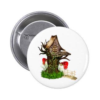 Magical Tree House 6 Cm Round Badge