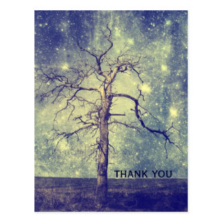 Magical Tree of The Universe Post Card