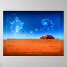 magical Uluru Poster