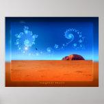 magical Uluru Print