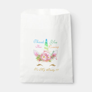 Magical Unicorn Birthday Gift Favor Bags