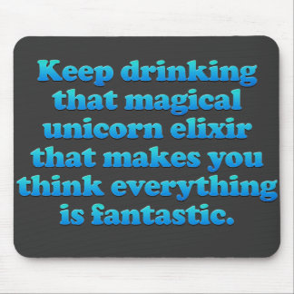 Magical Unicorn Elixir Mouse Mat