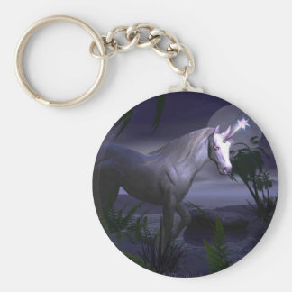 Magical Unicorn Keychain By Dragoncat