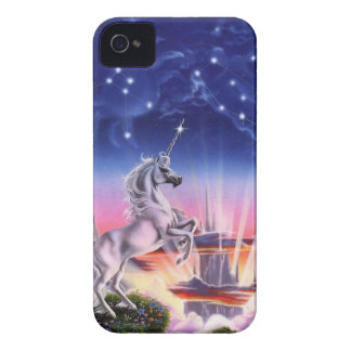 Magical Unicorn Kingdom iPhone 4 Case-Mate Cases