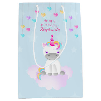 Magical Unicorn Medium Gift Bag