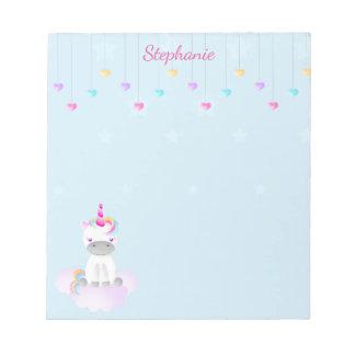 Magical Unicorn Notepad