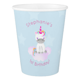 Magical Unicorn Paper Cup