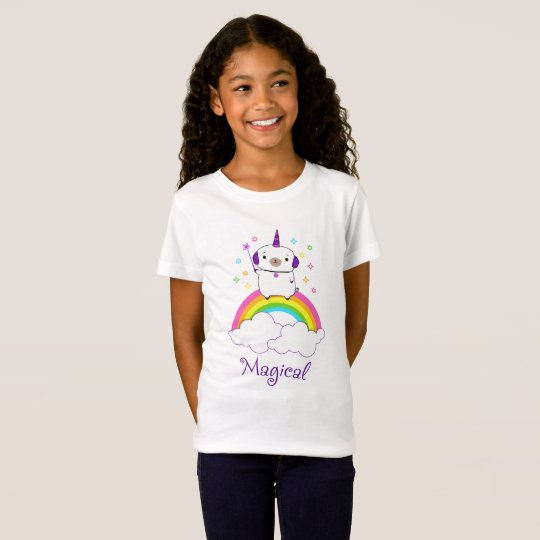 Magical Unicorn Pug T-Shirt